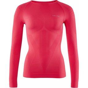 FALKE Damen Langarmshirt Warm, L, Pink, Uni, 39111-861604