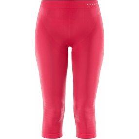 FALKE Damen 3/4 Tights Warm, L, Pink, Uni, 39117-861604
