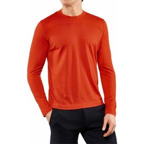 FALKE Herren Pullover Rundhals, M, Orange, Uni, Kaschmir, 60167-841703