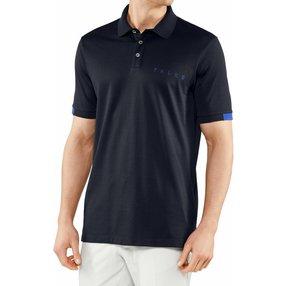 FALKE Herren Polo Shirt Polo, 3XL, Blau, 37587-643707