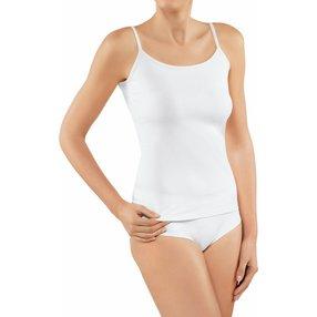 FALKE 2-Pack Damen Tops Daily Comfort, M, Weiß, 69021-200003
