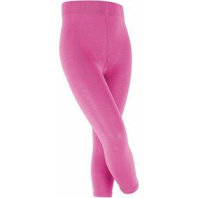 FALKE Cotton Touch Kinder Leggings, 152-164, Pink, Uni, Baumwolle, 13830-855006