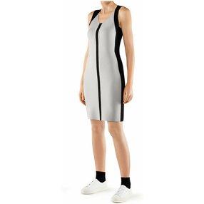 FALKE Damen Kleid Rundhals, XS, Schwarz, Uni, 64134-300001