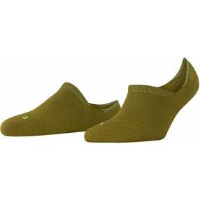 FALKE Cool Kick Damen Füßlinge, 35-36, Grün, Uni, 46296-718608