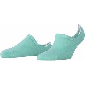 FALKE Cool Kick Damen Füßlinge, 35-36, Grün, Uni, 46296-718808