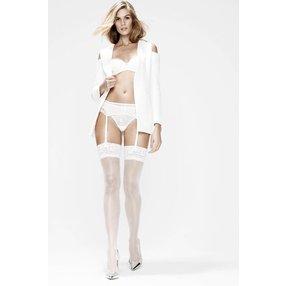 Hunkemöller Stockings 15 Denier Lace Weiß