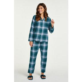 Hunkemöller Pyjama-Set Blau