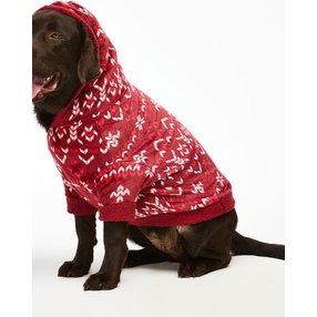 Hunkemöller Fleece Hunde-Onesie Rot