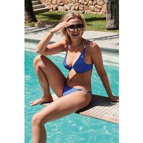 Hunkemöller Rio Bikini-Slip Monaco Vivian Hoorn Blau