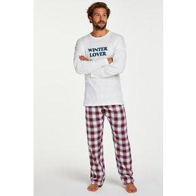 Hunkemöller Pyjama-Set für Männer Rot