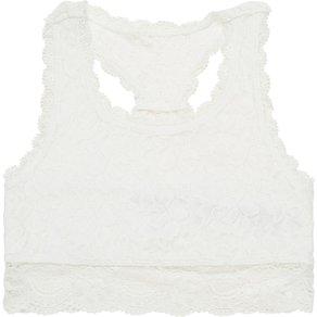 Abercrombie Fitch Mädchen Wäsche Bademode S-E123 S119-M5 RACERBACK LACE BRALETTE 3CC 17 95