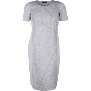 Doris Streich Kleid mit Material-Mix