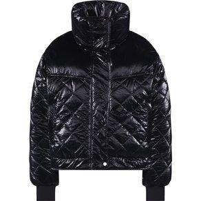 Urban Classics Jacke Ladies Vanish Oversized Diamond Quilt