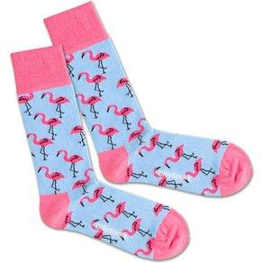 DillySocks Unisex Wäsche Bademode Flamingo Sky