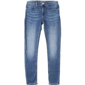 Calvin Klein Jeans SKINNY MR VALE MID BLUE STRETCH