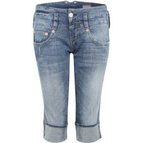 Herrlicher 3 4-Jeans im Used-Look Pitch