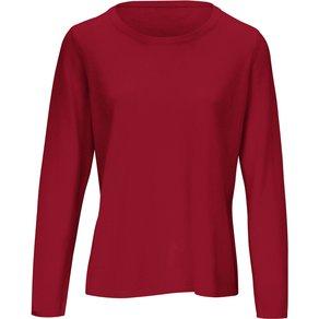 Include Rundhals-Pullover mit dekorativer Naht