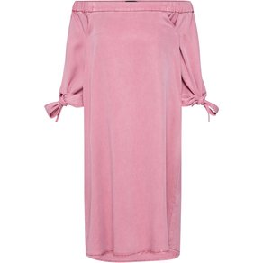VERO MODA Kleid VMMIA OFF SHOULDER TIE SLEEVE DRESS