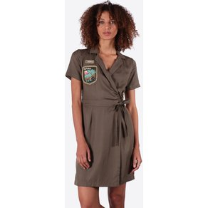 Kaporal Kleid Fipi mit modischem Marken-Patch