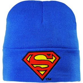 Logoshirt Strickmütze Superman Logo