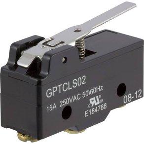 Cherry Switches ZF Mikroschalter GPTCLS02 250 V AC 15A 1 x Ein Ein tastend 1St