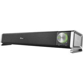 Trust Asto 2 0 PC-Lautsprecher Kabelgebunden 12W Schwarz Silber