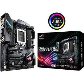 Asus ROG STRIX X399-E GAMING Mainboard Sockel AMD TR4 Formfaktor E-ATX Mainboard-Chipsatz AMDÂ X399