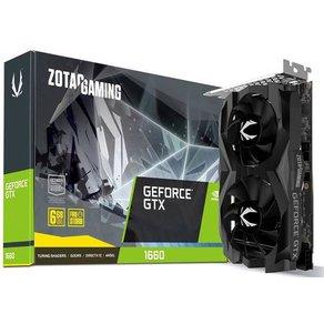 """Zotac Grafikkarte Nvidia GeForce GTX1660 Twin Fan 6GB GDDR5-RAM PCIe x16 HDMIa""""¢ DisplayPort"""