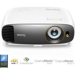 Benq Beamer W1720 DLP Helligkeit 2000lm 3840 x 2160 UHD 10000 1 Weiß Grau