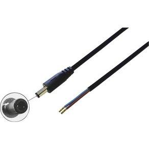 BKL Electronic 075830 Niedervolt-Anschlusskabel Stecker gerade 5 50mm 2 10mm 1St