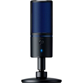 Razer Seiren X PC-Mikrofon Schwarz Blau Kabelgebunden