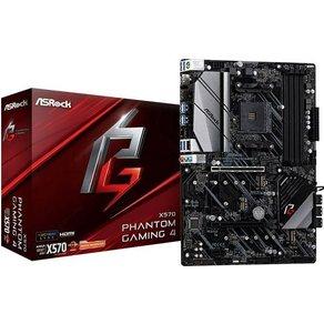 ASRock X570 Phantom Gaming 4 Mainboard Sockel AMD AM4 Formfaktor ATX Mainboard-Chipsatz AMDÂ