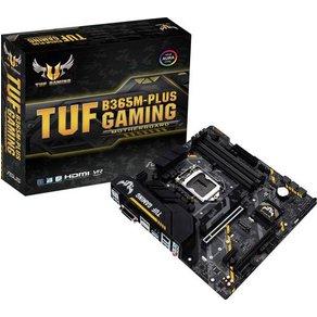 Asus TUF B365M-PLUS GAMING Mainboard Sockel Intel1151 Formfaktor Micro-ATX Mainboard-Chipsatz Int