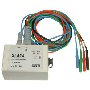 HT Instruments XL424 Spannungs-Datenlogger Messgröße Spannung