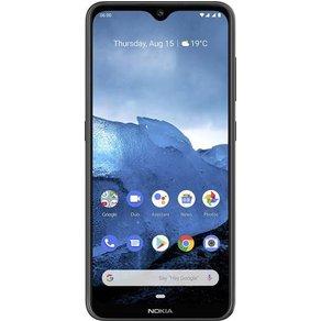 "Nokia 6 2 Dual-SIM-Handy 64GB 6 3 Zoll 16 cm Dual-SIM Androida""¢ 9 0 16 Mio Pixel Schwarz"