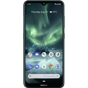 "Nokia 7 2 Dual-SIM-Handy 64GB 6 3 Zoll 16 cm Dual-SIM Androida""¢ 9 0 48 Mio Pixel Grün"