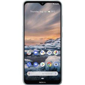"Nokia 7 2 Dual-SIM-Handy 64GB 6 3 Zoll 16 cm Dual-SIM Androida""¢ 9 0 48 Mio Pixel Ice"