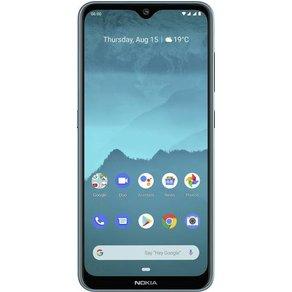 "Nokia 6 2 Dual-SIM-Handy 64GB 6 3 Zoll 16 cm Dual-SIM Androida""¢ 9 0 16 Mio Pixel Ice"