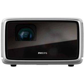 Philips Beamer Screeneo S4 DLP Helligkeit 1800lm 1920 x 1080 HDTV 100000 1 Schwarz Grau