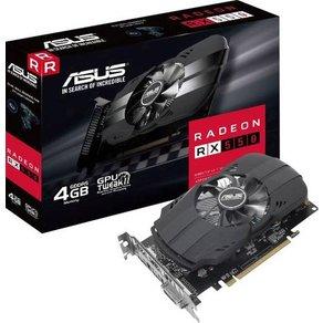 """Asus Grafikkarte AMD Radeon RX 550 Phoenix 4GB GDDR5-RAM PCIe x16 HDMIa""""¢ DisplayPort DVI"""