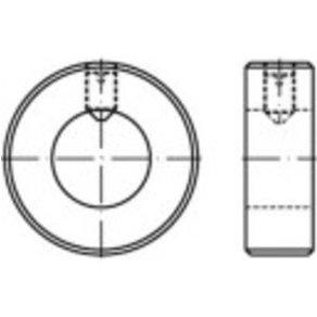 TOOLCRAFT 1061676 Stellringe Außen-Durchmesser 20mm M5 DIN 705 Edelstahl 10St