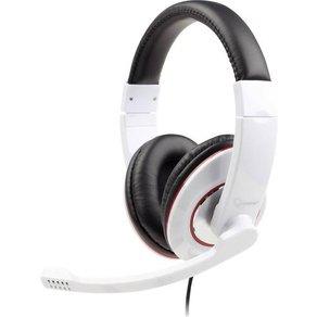 Gembird PC-Headset 3 5mm Klinke schnurgebunden Stereo MHS-001-GW Over Ear Schwarz