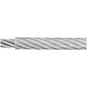 dörner helmer Stahlseil verzinkt x L 4mm 50m 190040 Grau