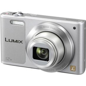Panasonic DMC-SZ10EG-S Digitalkamera 16 Mio Pixel Opt Zoom 12 x Silber