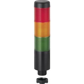 Werma Signaltechnik Signalsäule LED WERMA Grün Gelb Rot Dauerlicht 24 V AC V DC KombiS