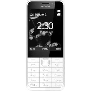 Nokia 230 Dual-SIM-Handy Silber