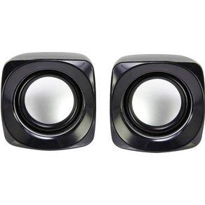 Basetech S181 2 0 PC-Lautsprecher Kabelgebunden 6W Schwarz