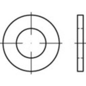 TOOLCRAFT 147807 Unterlegscheiben Innen-Durchmesser 25mm ISO 7089 Stahl 50St