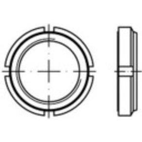 TOOLCRAFT 149936 Nutmuttern M45 9mm Stahl galvanisch verzinkt 1St