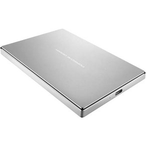 "Lacie Porsche Design Mobile Drive Externe Festplatte 6 35cm 2 5 Zoll 1TB Silber USB-Ca""¢ USB 3 1"